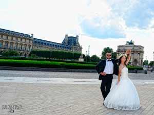 paris düğün fotoğraf çekimi
