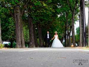 paris düğün fotoğrafları