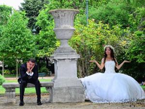 paris düğün çekimleri