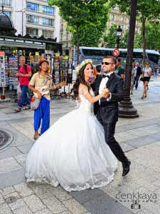 wedding story in paris