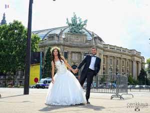 düğün dış çekim paris