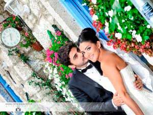 dış çekim düğün fotoğrafları