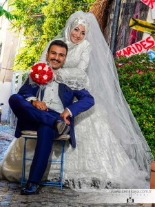 muslim wedding photography outside alaçatı