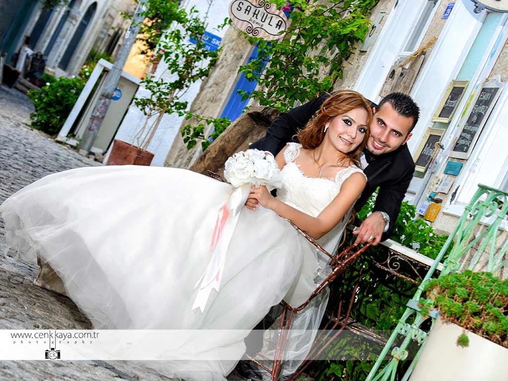 Alaçatı düğün çekim mekanları