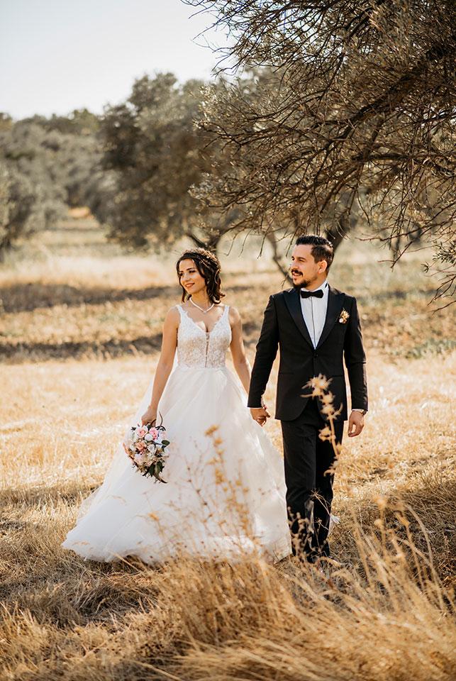 Alaçatı düğün hikayesi